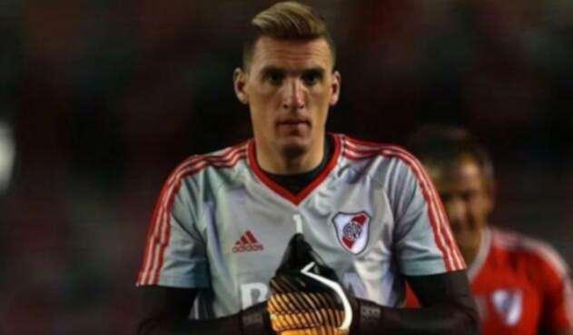 Franco Armani con River Plate