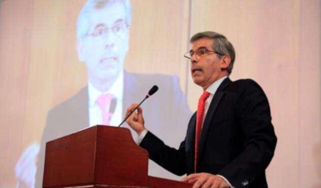Reyes fue ministro de Justicia en el gobierno Santos