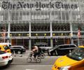 La sede de The New York Times en Nueva York
