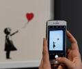 Girl with Red Balloon, obra de Banksy