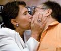 La intérprete de Doña Florinda en la serie 'El Chavo del 8' envió un conmovedor mensaje a su fallecido compañero sentimental.