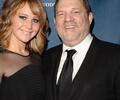 Jennifer Lawrence y Harvey Weinstein