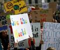 Jóvenes del mundo marcharon este 15 de marzo contra el cambio climático