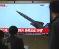 Lanzamiento de misiles desde Corea del Norte