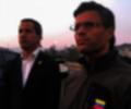 Leopoldo López y Juan Guaidó, líderes de la oposición venezolana