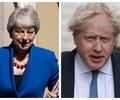 Theresa May y Boris Johnson