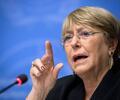 Michelle Bachelet, alta comisionada de Derechos Humanos de la ONU