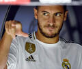 Eden Hazard volante del Real Madrid