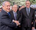 Benjamin Netanyahu y Benny Gantz