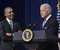Barack Obama junto a Joe Biden