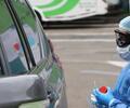 Prueba de coronavirus sin bajarse del carro