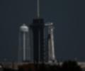 Cohete de SpaceX en la NASA