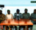 Líderes militares del golpe de estado en Mali