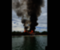 Incendio en zona insular de Cartagena