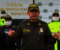El Mayor General Óscar Antonio Gómez Heredia, comandante de Policía de Bogotá