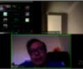 Gustavo Petro en sesión virtual