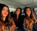 Jessica Cediel junto a sus hermanas Virginia y Melissa