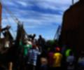 mercado campesino en la Mesa de los Santos