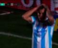 Reniero falló opción clara de gol