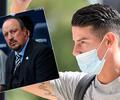 James Rodríguez noticias hoy, Everton, Rafa Benítez, Premier League