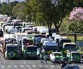 Bloqueos en Brasil en apoyo a Jair Bolsonaro