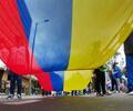 Protestas del paro nacional, en Bogotá.