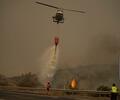 Incendio forestal en el sur de España