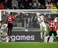 Juventus y Milán empataron