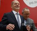 Ministro de Finanzas y vicecanciller saliente de Alemania, Olaf Scholz