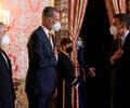 Presidente Iván Duque ante Rey Felipe VI de España