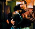 Whitney Houston y Kevin Costner en 'El Guardaespaldas'