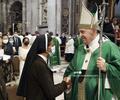 Papa Franciso y Gloria Cecilia Narváez, monja colombiana liberada en Malí