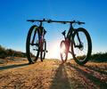 Dos bicicletas, foto referencial