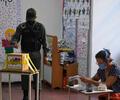 Votantes en elecciones en Venezuela