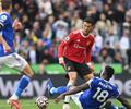 Leicester City venció a Manchester United 4-2