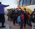 Migrantes en frontera de México con EE.UU.