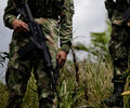 Militares en campo en operativo