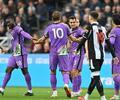 Jugadores del Newcastle y Tottenham