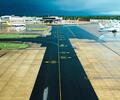 Pista de aterrizaje de un aeropuerto