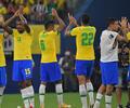 Selección de Brasil ante Uruguay en Eliminatorias