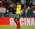 Yerry Mina juega con la Selección Colombia