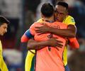 Yerrry Mina y David Ospina en Eliminatorias con la Selección Colombia